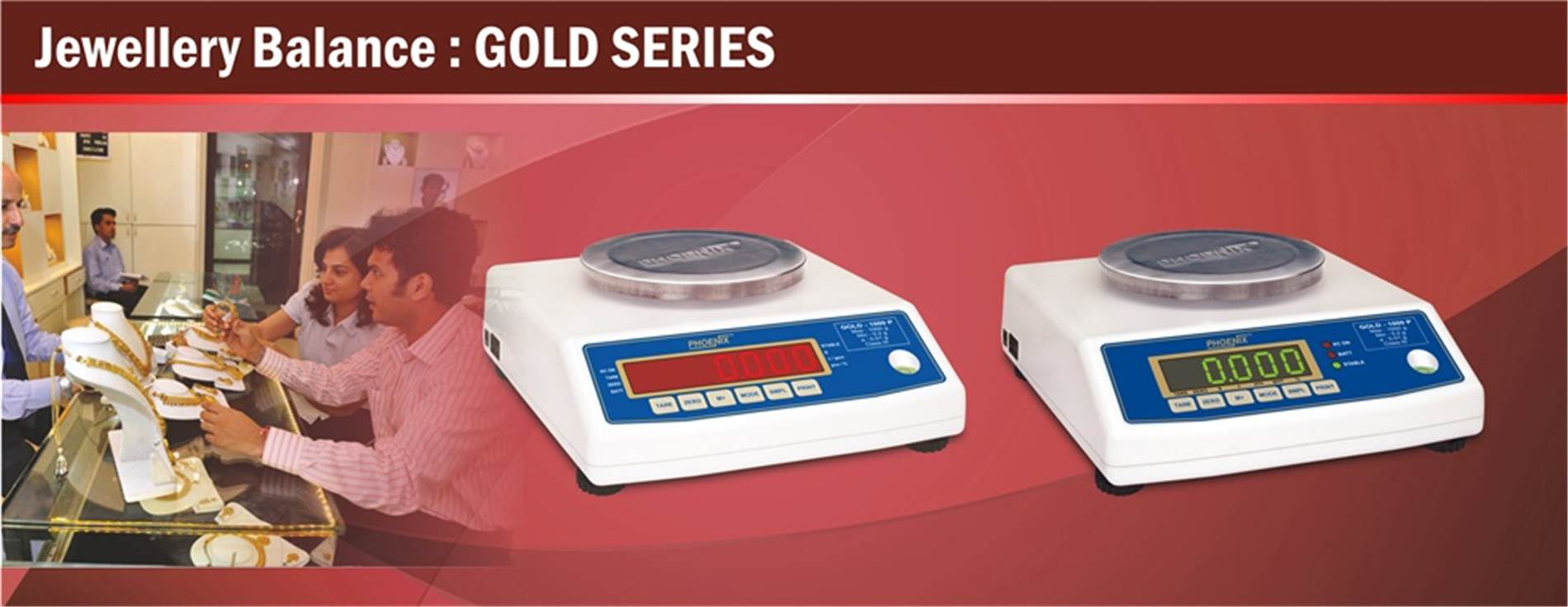 Jewellary Scale-Gold series