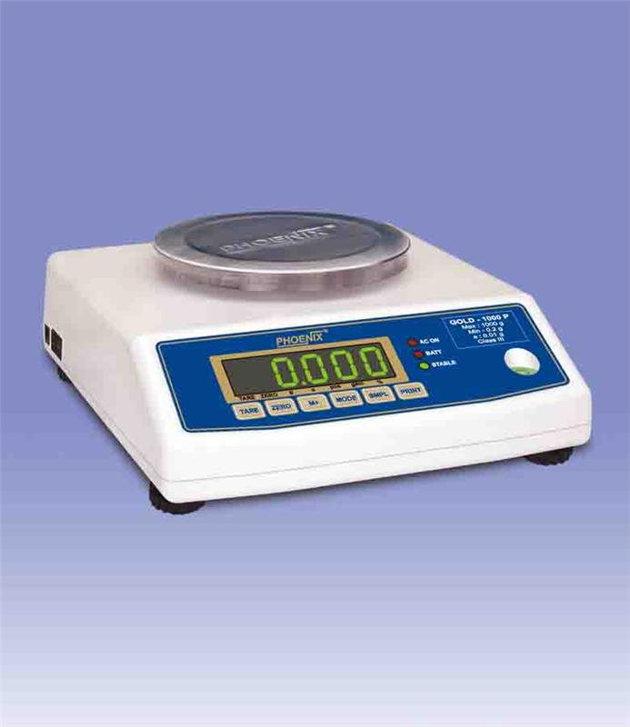 Jewellery Scales - Gold series VFD