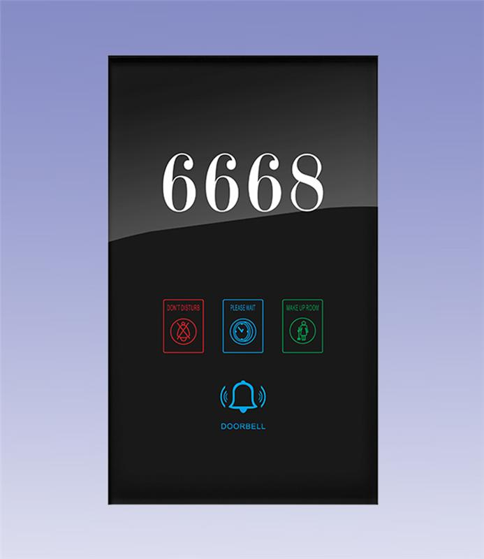 Hotel Automation Series-Hotel Room number plate