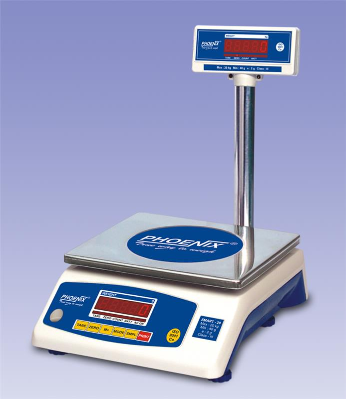 Table top scale-smart series