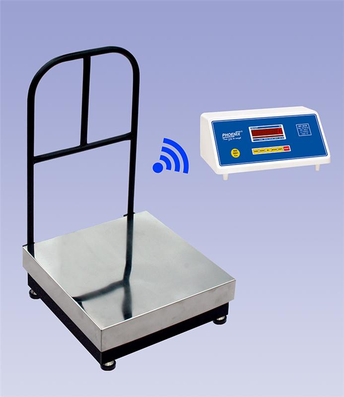 Wireless Platform Without Loadcell Wire
